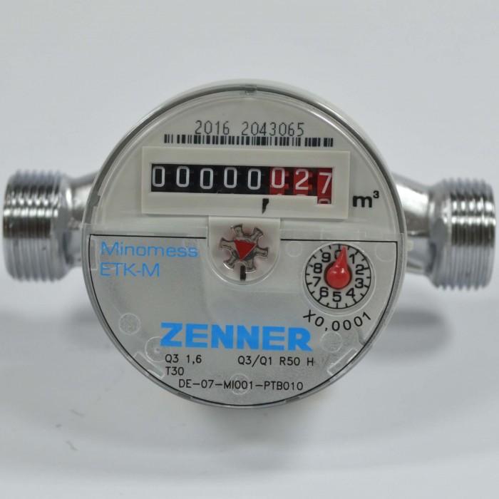 Recensione del contatore per acqua fredda Zenner ETK-M Cover a quadrante asciutto
